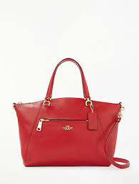 Coach Prairie Leather Satchel Bag, Jasper