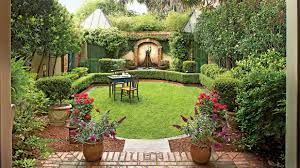 Small Picture Classic Courtyards Southern Living