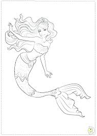 Cute Mermaid Coloring Pages Best Coloring Book For Free Downloads
