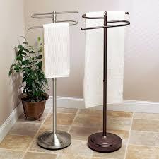 standing towel rack brushed nickel. Floor Standing S Style Towel Holder, Satin Nickel Rack Brushed