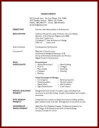 Awesome Collection Of Resume Format For First Job Wonderful Student