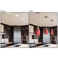 Pot Lights For Kitchen Westinghouse Recessed Light Converter For Pendant Or Light