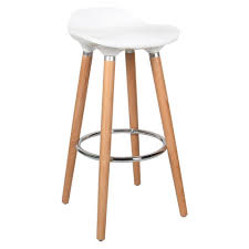 contemporary bar stools. Medium Plus 8830a Moustache Mofc D631 Wt Office Chairs Contemporary Bar Stool With Beech Wood Legs Stools