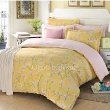 fl comforter sets queen light yellow country cotton 17