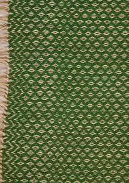 S Handmade Geometrical Weaving Dark Green Carpet U2022 Hemph And Cotton