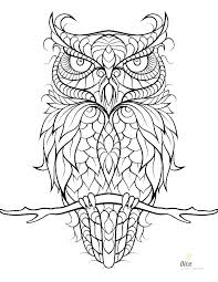 Owl Coloring Sheets Barn Pages Printable Adults Color Free For Pdf