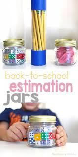10 Estimation Jars Ideas Estimation Math Night Family Math Night