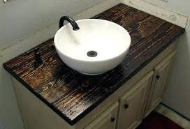 diy bathroom countertop floating bathroom brilliant how to