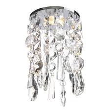 marquis by waterford bresna led crystal recessed ceiling light warm white