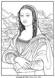 Freebie Mona Lisa For Emily Art Art Worksheets Art Handouts