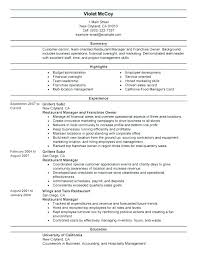 Hospitality Resume Sample Best Of Restaurant Manager Resume Sample Restaurant Assistant Manager Resume
