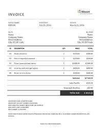 invoice forms 19 blank invoice templates microsoft word