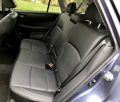 2017 subaru outback rear seats