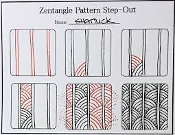 Official Zentangle Patterns Magnificent Decorating Design