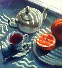 Patrick Saunders Fine Arts - Still Life - Painting - Oil on Canvas - Late  Afternoon