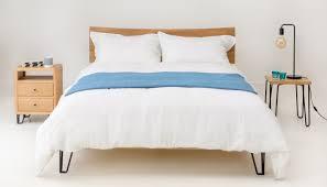 linen bed linen white