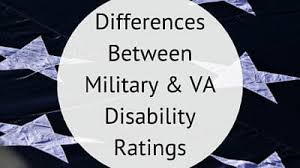 Differences Between Military Va Disability Ratings