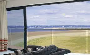 aluminium glass panels patio door sliding doors