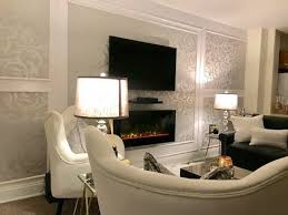 accent wall design statement wall