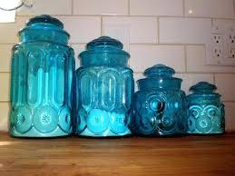 red glass canisters blue canister set floor protectors cobalt kitchen cute sets ruby r post