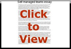 self managed teams self managed teams essay college paper writing service