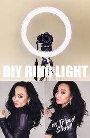 Diy Ring Light W Tripod Stand The Only Tutorial That Shows