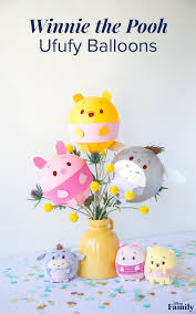 a winnie the pooh party isn t complete without these ufufy balloons