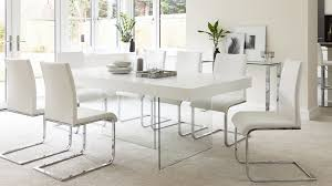 tempered safety glass legged dining table
