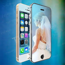 wriol g series color mirror 0 3mm tempered glass screen guard for iphone 5c 5s