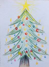 Christmas Tree - art by Donna Smullen – North Sydney Yoga