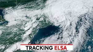 Tracking Elsa: Storm now tropical ...