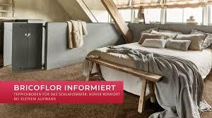 Teppichboden Für Das Schlafzimmer Hoher Komfort Bei Kleinem
