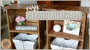 wood crate furniture. Lovable Wooden Crate Nightstand Magnificent Bedroom Design Inspiration With Diy Furniturerustic Nightstands Youtube Wood Furniture V