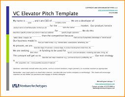 elevator resume sample elevator resume sample pitch format template elegant inspirational 5