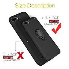 iphone 6 battery size iphone 6 6s battery case veepax premium 5000mah portable charging