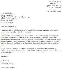 project manager cover letter examples cover letter now aacfa987