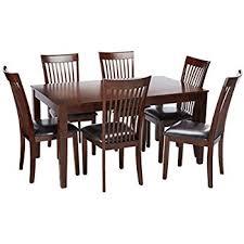 ashley furniture signature design mallenton rectangular 7piece dining room set inclues table 7 piece dining room set t24