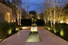 lighting a house. How To Light A Water Feature In Garden Lighting House D