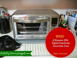 kenmore elite convection oven. win a kenmore elite digital countertop convection oven with mommy snippets ( ends1220)