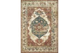 red and teal rug rug magnolia homes spice multi by red brown teal rug