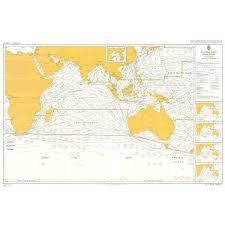 Admiralty Chart 5126 10 Routeing Indian Ocean October