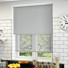 double window blind blinds double window blinds double roller blinds kitchen with white subway tiled black double window blind double roller