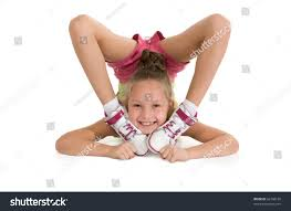 gymnast doing flexibility exercise