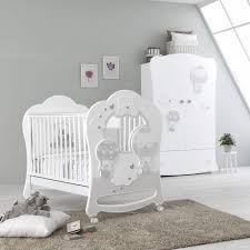 Bonnie Wooden Baby Cot With Drawer | Pali | Baby Nursery Furniture