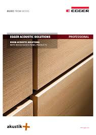 egger acoustic solutions 1 70 pages