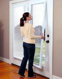 glass door blinds inside best doors images on patio design and for sliding window treatments