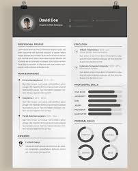 Free Cool Resume Templates Impressive Free Modern Resume Template Viawebco