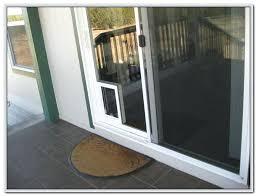 patio pet door insert bunnings with dog built in outdoor shade ideas