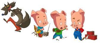 """Résultat de recherche d'images pour """"trois petits cochons"""""""