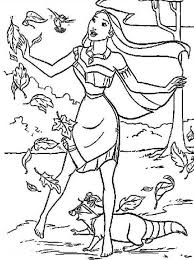 Small Picture Pocahontas Strong Winds Pocahontas Coloring Pages Pinterest